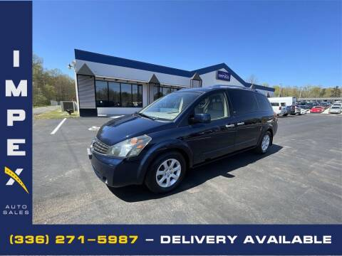 2007 Nissan Quest for sale at Impex Auto Sales in Greensboro NC