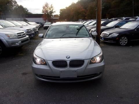 2008 BMW 5 Series for sale at Balic Autos Inc in Lanham MD