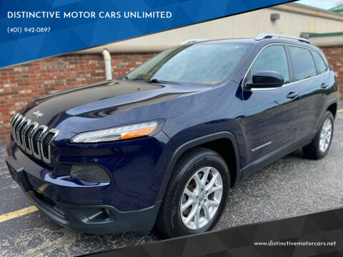 2015 Jeep Cherokee for sale at DISTINCTIVE MOTOR CARS UNLIMITED in Johnston RI