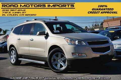 2011 Chevrolet Traverse for sale at Road Motors Imports in El Cajon CA