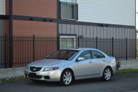 2005 Acura TSX for sale at Skyline Motors Auto Sales in Tacoma WA