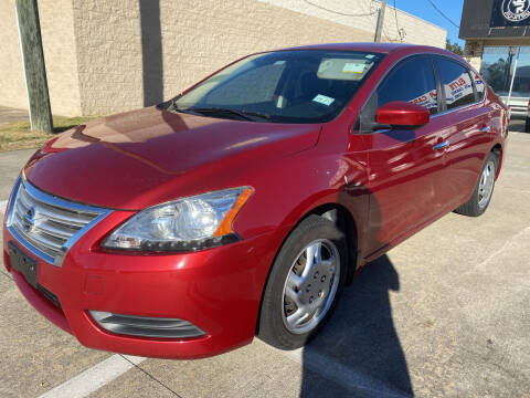 2014 Nissan Sentra for sale at Houston Auto Gallery in Katy TX
