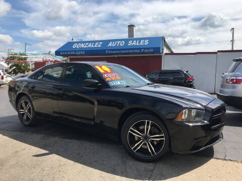 2014 Dodge Charger for sale at Gonzalez Auto Sales in Joliet IL