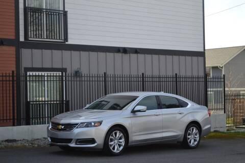 2018 Chevrolet Impala for sale at Skyline Motors Auto Sales in Tacoma WA