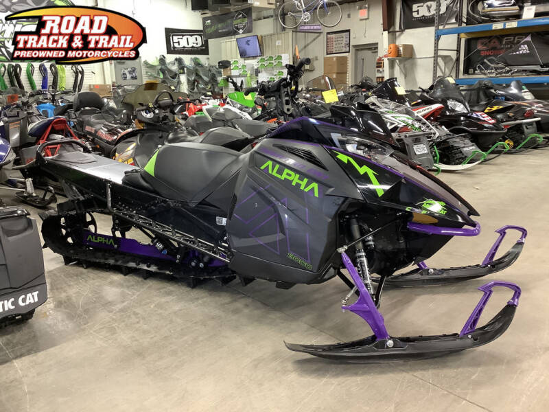 2019 Arctic Cat M 8000 Mountain Cat Alpha ONE  for sale at Road Track and Trail in Big Bend WI