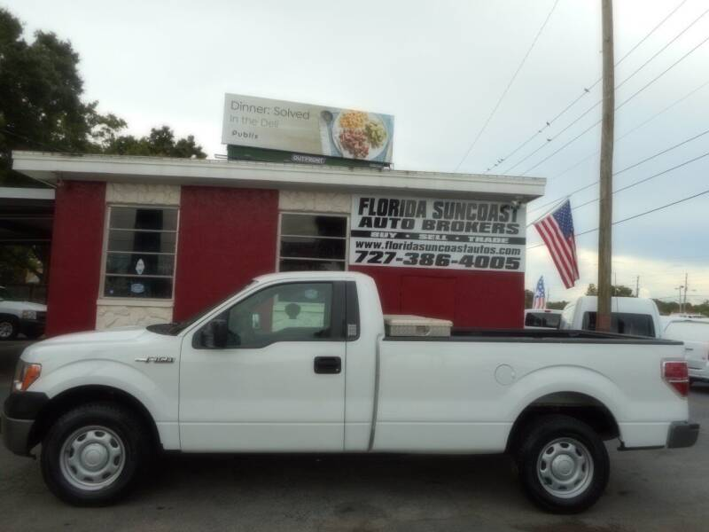 2012 Ford F-150 for sale at Florida Suncoast Auto Brokers in Palm Harbor FL