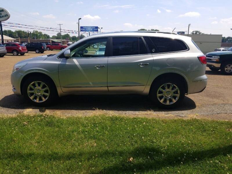 2014 Buick Enclave for sale at Frontline Auto Sales in Martin TN
