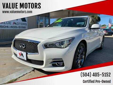 2017 Infiniti Q50 for sale at VALUE MOTORS in Kenner LA
