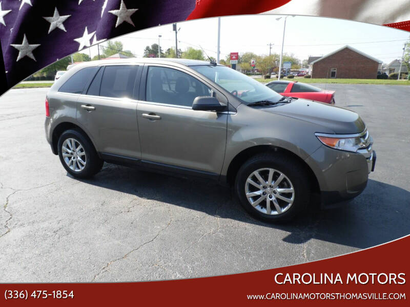 2013 Ford Edge for sale at CAROLINA MOTORS in Thomasville NC