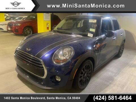 2017 MINI Hardtop 4 Door for sale at MINI OF SANTA MONICA in Santa Monica CA