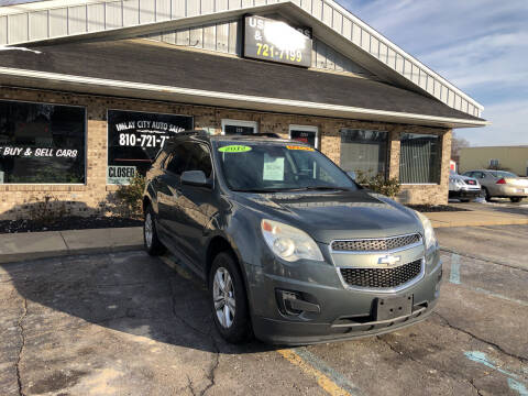 2012 Chevrolet Equinox for sale at Imlay City Auto Sales LLC. in Imlay City MI