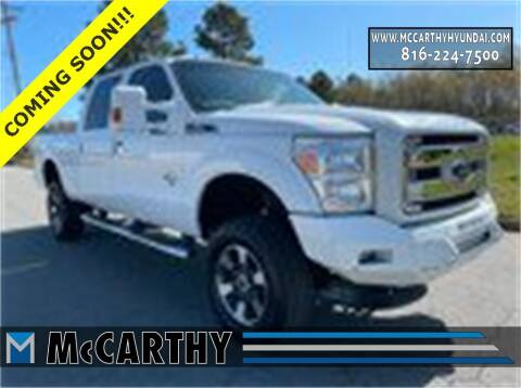 2016 Ford F-250 Super Duty for sale at Mr. KC Cars - McCarthy Hyundai in Blue Springs MO