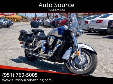 2007 Honda VTX 1800T for sale at Auto Source in Banning CA