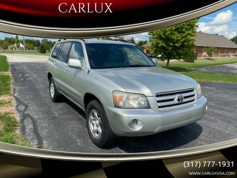 2004 Toyota Highlander for sale at CARLUX in Fortville IN