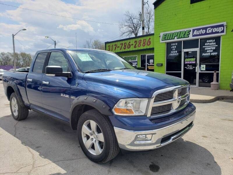 2009 Dodge Ram Pickup 1500 for sale at Empire Auto Group in Indianapolis IN
