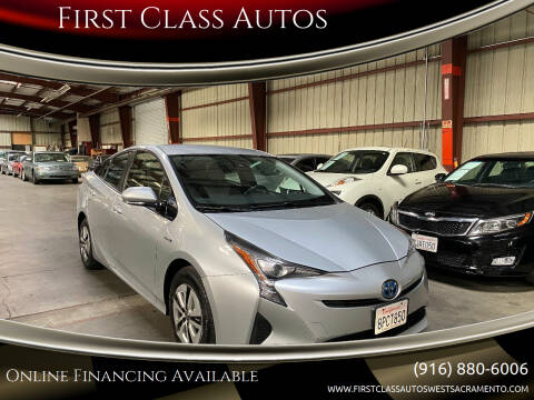 2017 Toyota Prius for sale at Car Source Center in West Sacramento CA