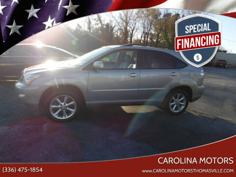 2008 Lexus RX 350 for sale at CAROLINA MOTORS in Thomasville NC