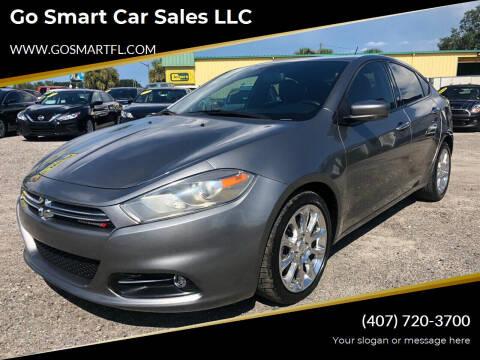 2013 Dodge Dart for sale at Go Smart Car Sales LLC in Winter Garden FL