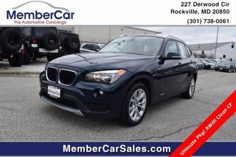 2014 BMW X1 for sale at MemberCar in Rockville MD
