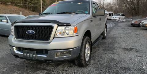 2004 Ford F-150 for sale at JM Auto Sales in Shenandoah PA