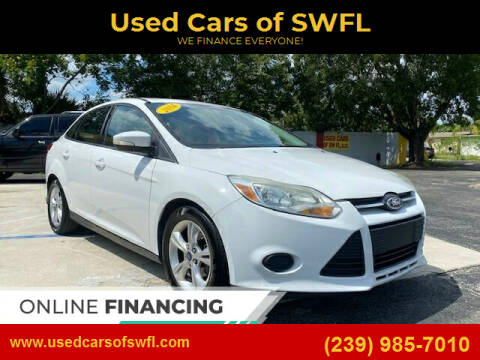 2014 Ford Focus for sale at Used Cars of SWFL in Fort Myers FL