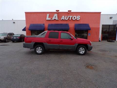 2002 Chevrolet Avalanche for sale at L A AUTOS in Omaha NE