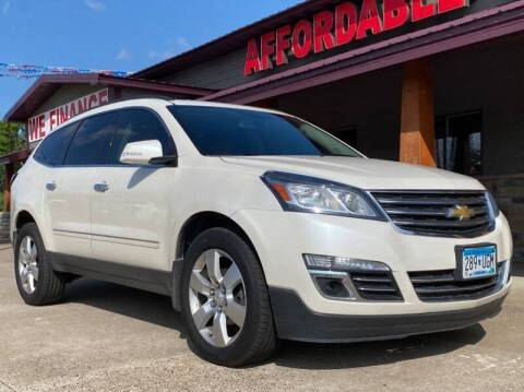 2013 Chevrolet Traverse for sale at Affordable Auto Sales in Cambridge MN