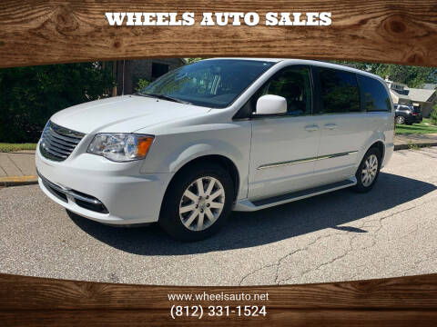 2014 Chrysler Town and Country for sale at Wheels Auto Sales in Bloomington IN