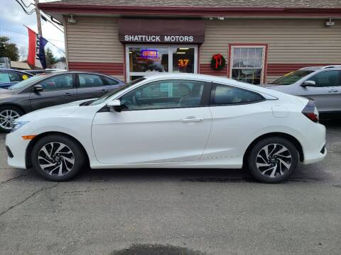 2017 Honda Civic for sale at Shattuck Motors in Newport VT