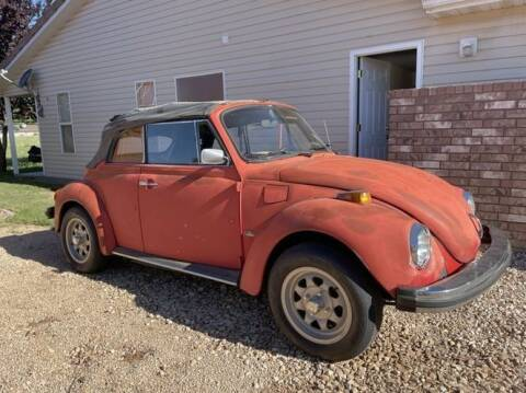 1978 Volkswagen Super Beetle for sale at Classic Car Deals in Cadillac MI