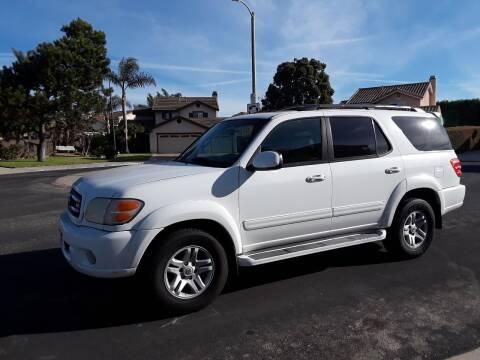 2003 Toyota Sequoia for sale at Goleta Motors in Goleta CA