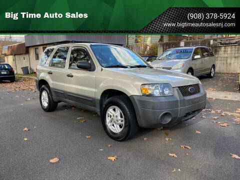 2006 Ford Escape for sale at Big Time Auto Sales in Vauxhall NJ