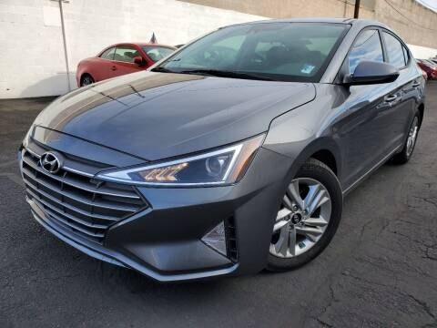 2019 Hyundai Elantra for sale at Auto Center Of Las Vegas in Las Vegas NV