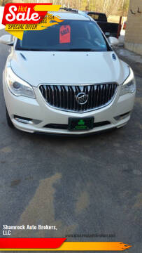 2013 Buick Enclave for sale at Shamrock Auto Brokers, LLC in Belmont NH