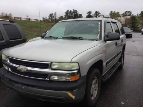 2004 Chevrolet Tahoe for sale at Elite Pre-Owned Auto in Peabody MA