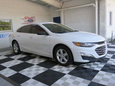 2019 Chevrolet Malibu for sale at McLaughlin Ford in Sumter SC