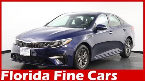 2020 Kia Optima for sale at Florida Fine Cars - West Palm Beach in West Palm Beach FL