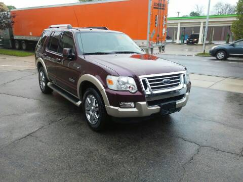2007 Ford Explorer for sale at BELLEFONTAINE MOTOR SALES in Bellefontaine OH
