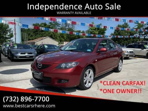 2009 Mazda MAZDA3 for sale at Independence Auto Sale in Bordentown NJ
