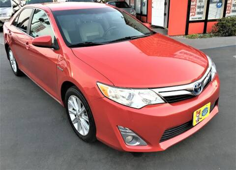 2013 Toyota Camry Hybrid for sale at CARSTER in Huntington Beach CA