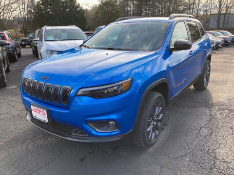 2021 Jeep Cherokee for sale at Louisburg Garage, Inc. in Cuba City WI