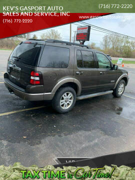 2008 Ford Explorer for sale at KEV'S GASPORT AUTO SALES AND SERVICE, INC in Gasport NY