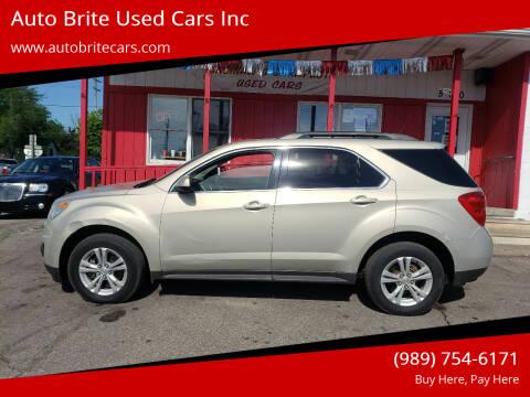 2011 Chevrolet Equinox for sale at Auto Brite Used Cars Inc in Saginaw MI