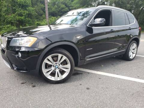 2013 BMW X3 for sale at Capital City Imports in Tallahassee FL