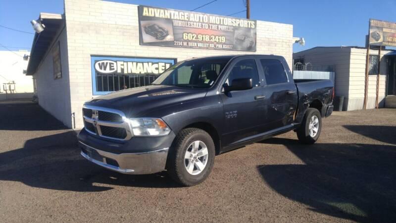 2014 RAM Ram Pickup 1500 for sale at Advantage Auto Motorsports in Phoenix AZ