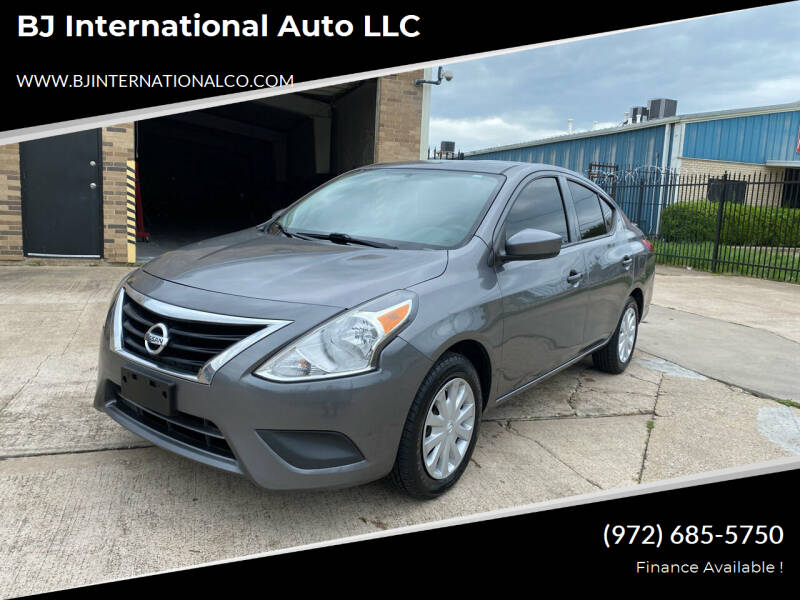 2016 Nissan Versa for sale at BJ International Auto LLC in Dallas TX