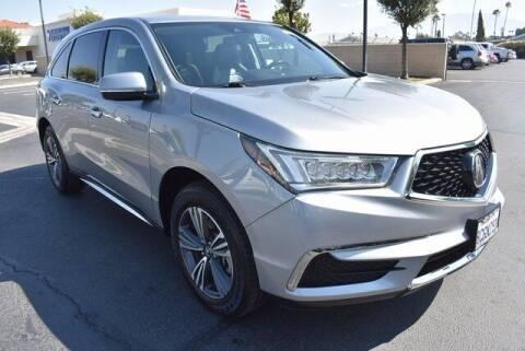 2018 Acura MDX for sale at DIAMOND VALLEY HONDA in Hemet CA