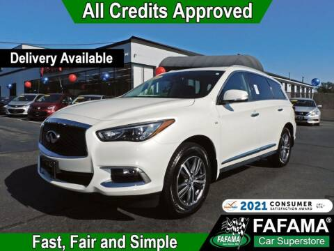 2018 Infiniti QX60 for sale at FAFAMA AUTO SALES Inc in Milford MA