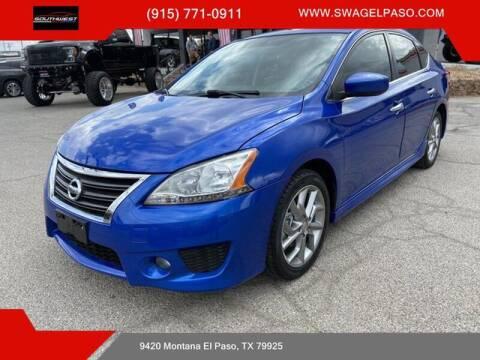 2013 Nissan Sentra for sale at SOUTHWEST AUTO GROUP-EL PASO in El Paso TX