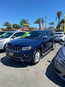 2016 Jeep Grand Cherokee for sale at 2955 FIRESTONE BLVD - 3271 E. Firestone Blvd Lot in South Gate CA
